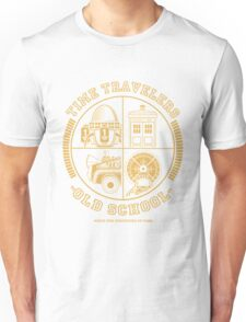 TIME TRAVELERS OLD SCHOOL Unisex T-Shirt