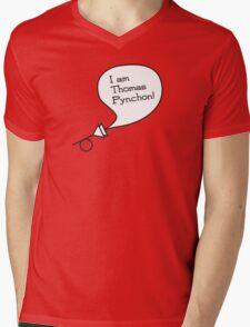 I am Thomas Pynchon! Mens V-Neck T-Shirt