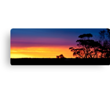 Swan Hill Sunset Canvas Print