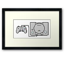 Playstation Sprite - Love the first generation! Framed Print