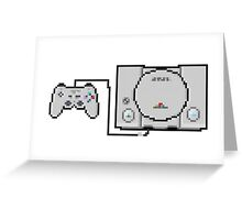 Playstation Sprite - Love the first generation! Greeting Card