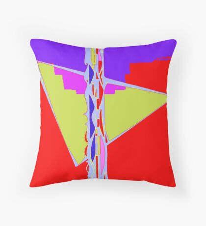 Numeric Series 1.a - Candle Throw Pillow