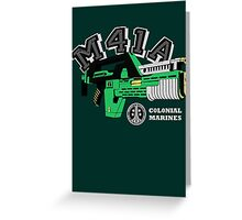 M41A Pulse Rifle Aliens Edition Greeting Card