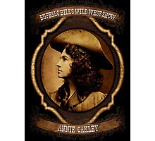 Annie Oakley Buffalo Bill's Wild West Show Sharpshooter Photographic Print