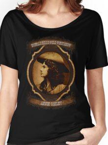 Annie Oakley Buffalo Bill's Wild West Show Sharpshooter Women's Relaxed Fit T-Shirt