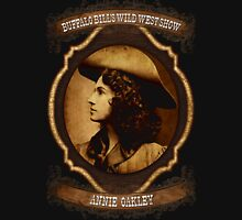 Annie Oakley Buffalo Bill's Wild West Show Sharpshooter Unisex T-Shirt