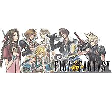 Final Fantasy Characters Photographic Print