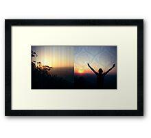 Sky-High Framed Print