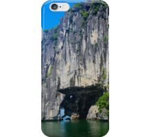 The Stone Arch - Ha Long Bay, Vietnam. iPhone Case/Skin