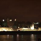 Tower of London By Night by Christian  Zammit