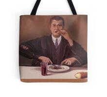 Rene Magritte- self portrait Tote Bag