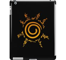 Naruto Kyuubi Seal (Orange Gradient) iPad Case/Skin