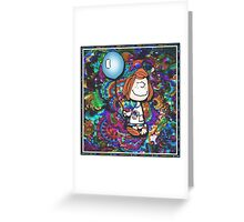 peppermint patty Greeting Card