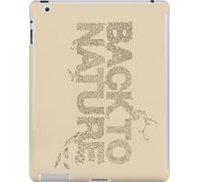 Back to Nature iPad Case/Skin