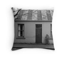 Napier Street, Fitzroy. 2007 Throw Pillow