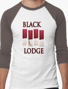 Black Lodge Men's Baseball ¾ T-Shirt