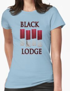 Black Lodge Womens Fitted T-Shirt