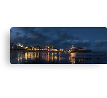 Broadstairs evening Canvas Print