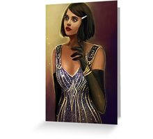 Clara Oswald Greeting Card