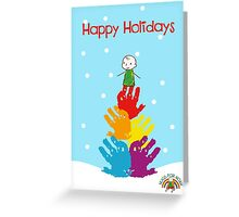 #HugsForNoah Christmas Tree Happy Holidays Greeting Card