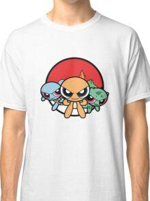 Powerpuff Pokemon Classic T-Shirt
