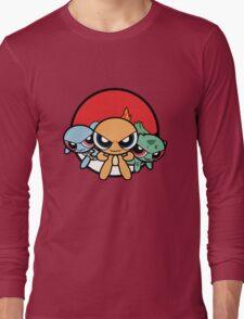 Powerpuff Pokemon Long Sleeve T-Shirt