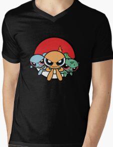 Powerpuff Pokemon Mens V-Neck T-Shirt