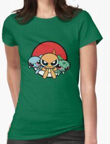 Powerpuff Pokemon Womens Fitted T-Shirt