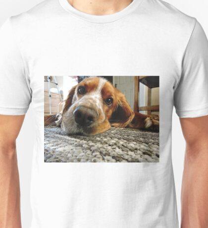 Cute Cocker Spaniel Face Unisex T-Shirt