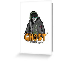 Ghost 'Simon Riley' Greeting Card