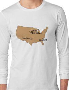 Ogdenville, North Haverbrook and Brockway Long Sleeve T-Shirt