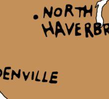 Ogdenville, North Haverbrook and Brockway Sticker