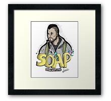 Soap MacTavish Framed Print