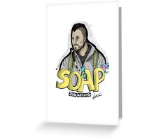 Soap MacTavish Greeting Card