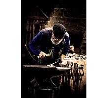 Mont De Lancey Blacksmithing 6 Photographic Print