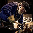 Mont De Lancey Blacksmithing 3 by Samantha Cole-Surjan