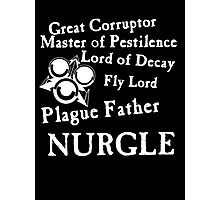 Nurgle, the Plague Father Photographic Print