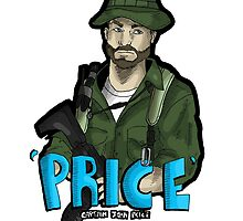 Captain Price by Squeakierhippo