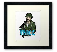 Captain Price Framed Print