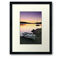Serene Dawn Framed Print