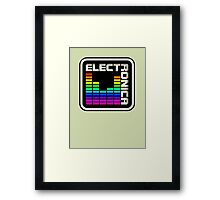 Electronica Colorful Meter Framed Print