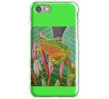 Tropical Frog iPhone Case/Skin