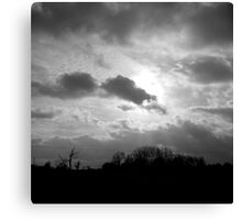 Obscured by Clouds Canvas Print