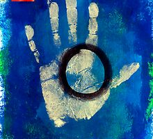 Health Hand Print by Antaratma Images