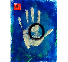 Health Hand Print Photographic Print