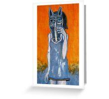 'Horseing Around' Greeting Card