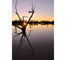 Outback Sunrise Photographic Print