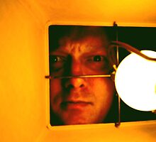 Self Portrait From a Moth's Perspective by Rik Kent