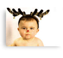 Rudolph!!!! Canvas Print