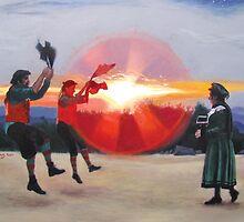 Dance up the Sun (Brandragon) by Nicole Murray